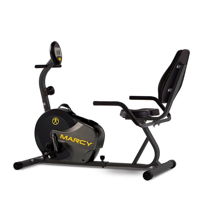 Marcy Magnetic Recumbent Bike NS-716R - 300 lbs weight capacity