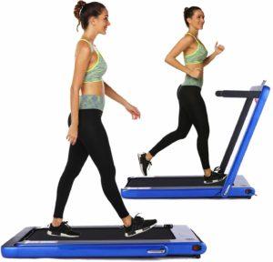 OppsDecor Under desk folding treadmill