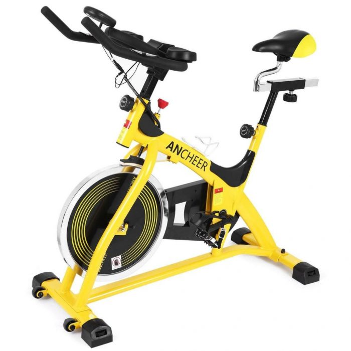 ANCHEER silent Indoor spinning Bike A5001 review