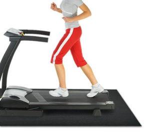 Rubber-Cal Large Treadmill Mat